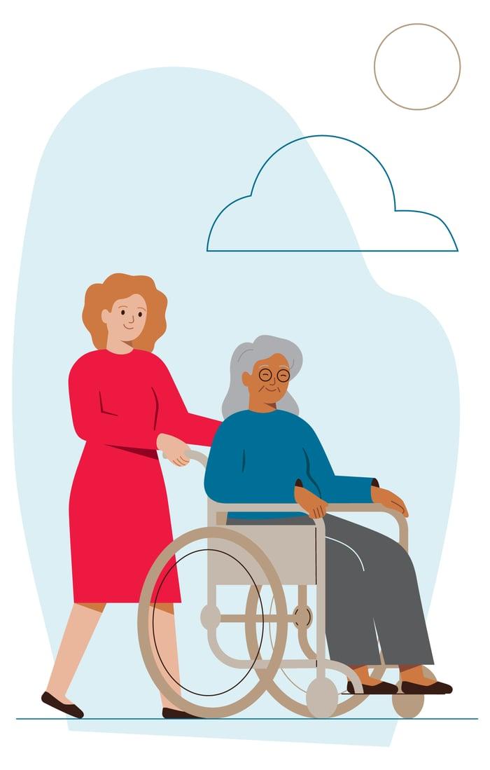 Wheelchair-illustration